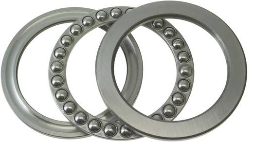 Rillenkugellager axial FAG 51205 Bohrungs-Ø 25 mm Außen-Durchmesser 47 mm Drehzahl (max.) 6700 U/min