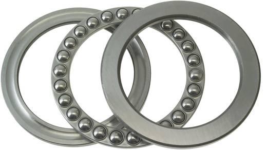 Rillenkugellager axial FAG 51211 Bohrungs-Ø 55 mm Außen-Durchmesser 90 mm Drehzahl (max.) 3800 U/min