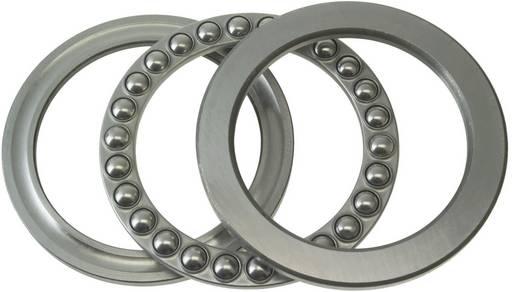 Rillenkugellager axial FAG 51216 Bohrungs-Ø 80 mm Außen-Durchmesser 115 mm Drehzahl (max.) 3400 U/min