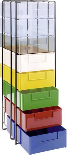 ESD-Schubladenschrank (L x B x H) 252 x 190 x 610 mm Licefa A4-70/11
