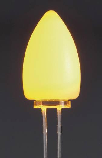Thomsen CandleLED LED bedrahtet Gelb Rund 5 mm 2180 mcd, 6500 mcd 50 ° 20 mA 3.3 V