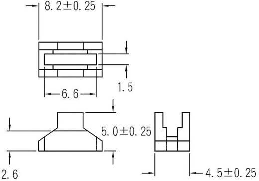 LED-Abstandshalter 1fach Transparent 1c. Marke KSS LQ-2
