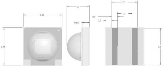 HighPower-LED Warm-Weiß 87.4 lm 125 ° 3 V, 3.2 V, 3.3 V 350 mA, 700 mA, 1000 mA CREE XPGWHT-U1-0000-00AE7