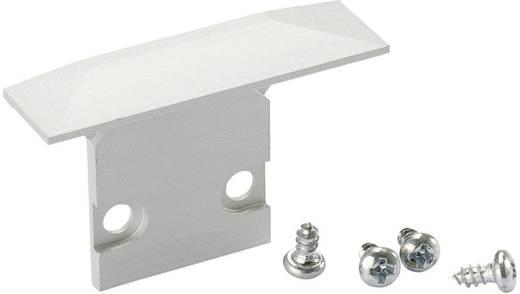 Endkappen-Set Aluminium (B x H) 2.5 cm x 3.5 cm Barthelme 62399605