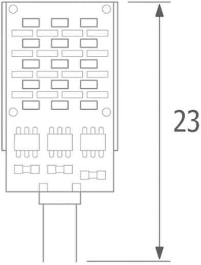 HighPower-LED-Modul Blau 2 W 40 lm 120 ° 12 V/DC, 12 V/AC ledxon SideLED 2W BLAU