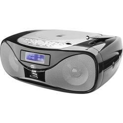 FM rádio s CD prehrávačom Dual DAB-P 160, AUX, CD, UKW, USB, čierna