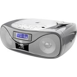 FM rádio s CD prehrávačom Dual DAB-P 160, AUX, CD, UKW, USB, sivá