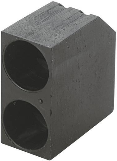 LED-Abstandshalter 2fach Schwarz Passend für LED 5 mm 1c. Marke KSS PLD2-5C