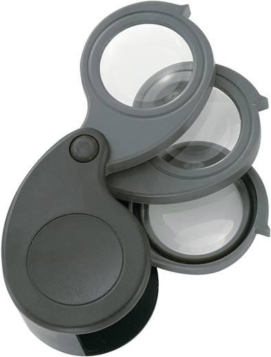 Elektroniker-Lupe Linsen-Durchmesser: 27 mm 1 St. Magnifier5.10.15x Conrad Components (L x B x H) 61 x 42 x 28 mm