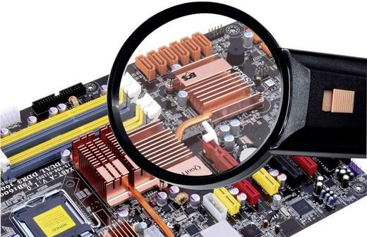 Handlupe mit LED-Beleuchtung Vergrößerungsfaktor: 2 x Linsengröße: (Ø) 85 mm Conrad Components Magnifier2x