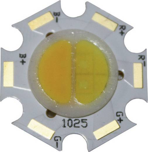 HighPower-LED Kalt-Weiß, Warm-Weiß 2 W, 2 W 140 lm, 150 lm 120 ° 7 V/DC 350 mA Barthelme 61005030
