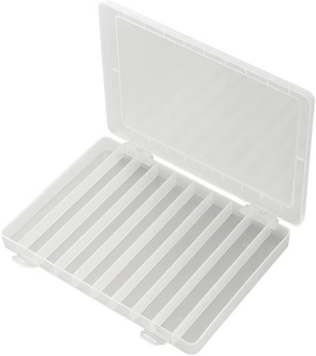 Sortimentskasten (L x B x H) 252 x 175 x 20 mm PP10-01 Anzahl Fächer: 10 feste Unterteilung