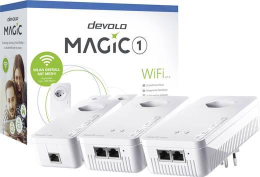 Devolo Magic 1 WiFi 2-1-3 CH Powerline WLAN Network Kit 1.2 Gbit/s