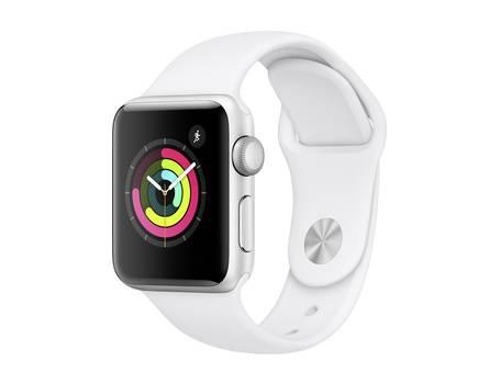Apple Watch 3 38mm in Silber