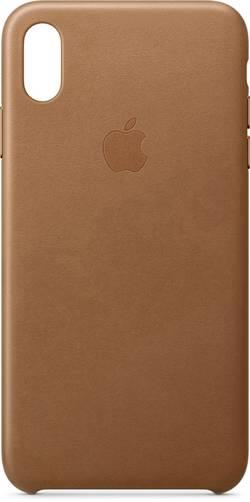Zadní kryt pro iPhone Apple Leder Case vhodné pro: Apple iPhone XS Max, sedlově hnědá