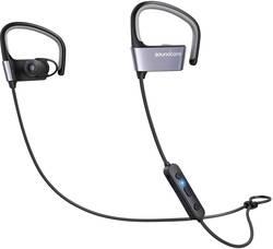 Image of Anker Soundcore Arc Bluetooth® Sport Kopfhörer In Ear Ohrbügel, Schweißresistent, Wasserbeständig Schwarz, Grau
