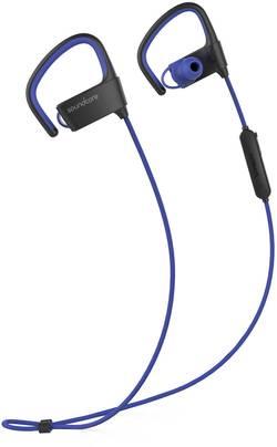 Image of Anker Soundcore Arc Bluetooth® Sport Kopfhörer In Ear Ohrbügel, Schweißresistent, Wasserbeständig Schwarz, Blau