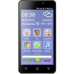 "Smartfón pre seniorov Dual SIM Switel eSmart M2, 12.7 cm (5 "", 8 GB, 8 MPix, čierna"