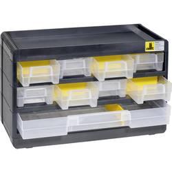 Zásobník na malé diely VarioPlus Basic 15, čierny / žltý Allit VarioPlus Basic 15 458080, (š x v x h) 300 x 190 x 135 mm, čierna, žltá