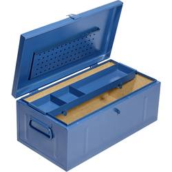 Image of Allit 430120 StorePlus SteelBox 147 Transportkiste Stahlblech Blau