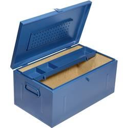 Image of Allit 430130 StorePlus SteelBox 237 Transportkiste Stahlblech Blau