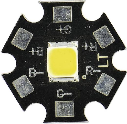 HighPower-LED Kalt-Weiß 130 lm 120 ° 3.3 V 350 mA CREE MX6AWT-A1-STAR-000E51