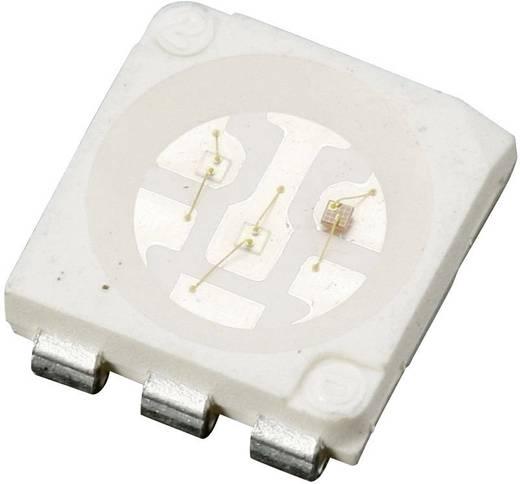 SMD-LED mehrfarbig PLCC6 RGB 600 mcd, 1100 mcd, 180 mcd 120 ° 20 mA, 20 mA, 20 mA 1.9 V, 2.8 V, 2.8 V Lumimicro LMTP553R
