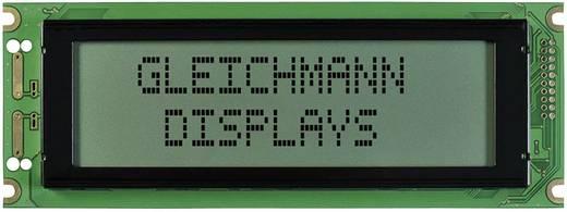 Grafik-Display Weiß Schwarz (B x H x T) 180 x 65 x 12.3 mm Gleichmann GE-G24064A-TFH-VZ/R
