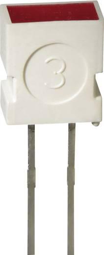 LED bedrahtet Gelb Rechteckig 3.65 x 6.15 mm 4 mcd 100 ° 20 mA 2 V Kingbright L-1043 YD