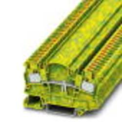 Svorka ochranného vodiča Phoenix Contact PTMED 4-PE 3212154, 50 ks, zelená, žltá