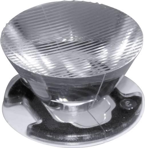 LED-Optik Klar, Geriffelt Transparent 10 °, 44 ° Anzahl LEDs (max.): 1 Für LED: Seoul Semiconductor® Z5 Ledil CA11389_E
