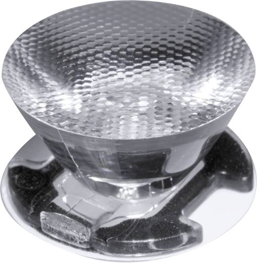 LED-Optik Klar, Geriffelt Transparent 10 ° Anzahl LEDs (max.): 1 Für LED: Seoul Semiconductor® Z5 Ledil CA11387_EMILY-SS