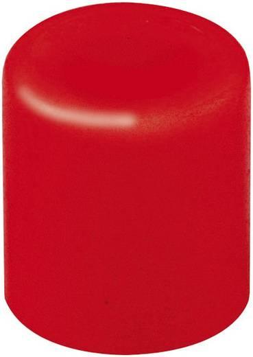 Druckknopf Rot (Ø x H) 3.8 mm x 4 mm Mentor 1840.0021 1 St.