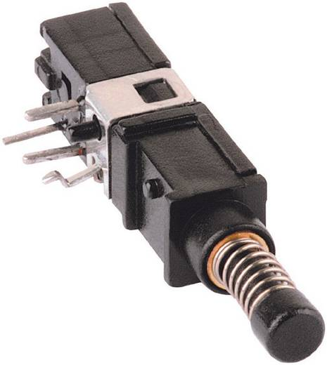 Drucktaster 60 V DC/AC 0.5 A 1 x Ein/(Ein) Mentor 1446.1233 IP65 tastend 1 St.