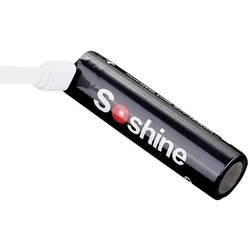 Speciální akumulátor Soshine 18650USB-3.7-3600, 18650, Li-Ion akumulátor, 3.6 V, 3600 mAh