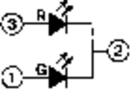 LED-Signalleuchte mehrfarbig Rot, Grün 2 V, 2.4 V 20 mA Mentor 2664.8001