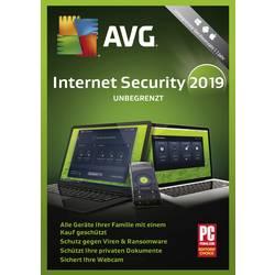 Image of AVG Internet Security 2019 Vollversion, unbegrenzte Geräteanzahl Windows, Mac, Android Sicherheits-Software