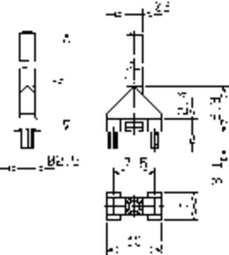 Hohllichtleiter Mentor 1275.1001 Starr Kartenbefestigung, Presspassung