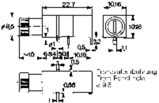 Sicherungshalter Passend für Feinsicherung 5 x 20 mm 6.3 A Mentor 1906.1031 1 St.
