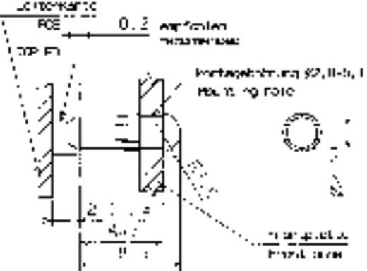 Hohllichtleiter Mentor 1282.1000 Starr Kartenbefestigung, Presspassung