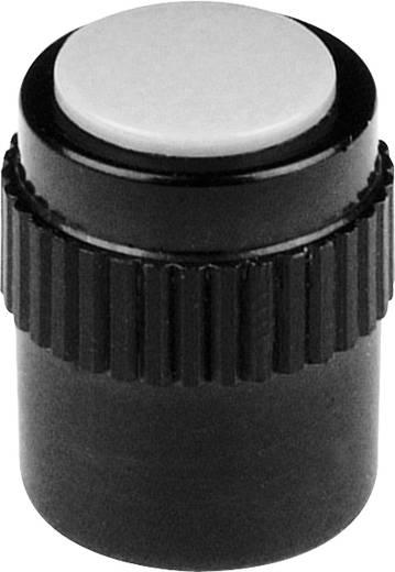 Drehknopf mit Zeiger Schwarz (Ø x H) 11.5 mm x 15 mm Mentor 4130.303 1 St.