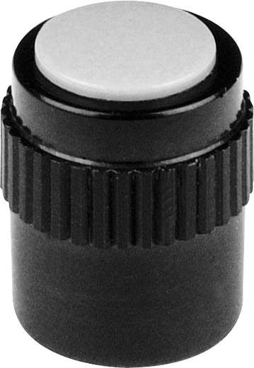 Drehknopf Schwarz (Ø x H) 11.5 mm x 15 mm Mentor 4130.303 1 St.
