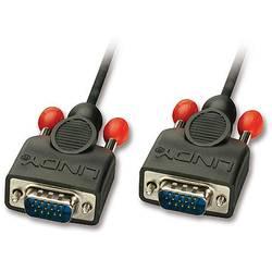 VGA prepojovací kábel LINDY 31443, 5.00 m, čierna