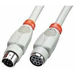 Prepojovací kábel LINDY 31533, 2.00 m, sivá