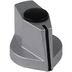 Otočný gombík s ukazovateľom Mentor 499.60, čierna, 1 ks