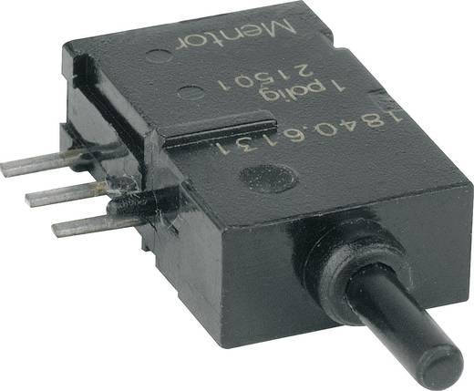 Drucktaster 60 V DC/AC 0.5 A 1 x Ein/(Ein) Mentor 1840.6131 tastend 1 St.