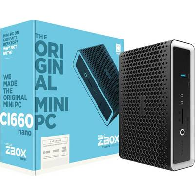 Zotac ZOTAC ZBOX CI660 Nano Barebone mit CPU Intel Core i7 4 x 1.8 GHz Preisvergleich