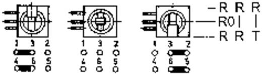 Kippschalter 0.5 A 1 x Ein/Ein Mentor 1842.1031 rastend 1 St.