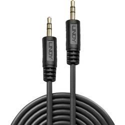 Jack audio prepojovací kábel LINDY 35643, 3.00 m, čierna