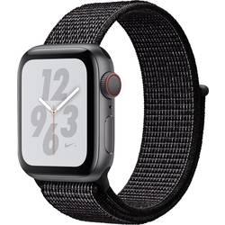 Image of Apple Watch Nike+ Series 4 40 mm GPS + Cellular Aluminiumgehäuse Spacegrau Sportarmband Schwarz